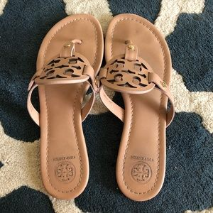 Tory Burch Miller's size 8.5 (color: makeup)